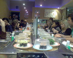 Sushi Train Town Hall Closing