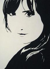 self-portrait (Rebecca Vanysacker) Tags: selfportrait andy painting rebecca schilderij peinture warhol zelfportret vanysacker