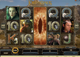 free The Lord of the Rings free spins