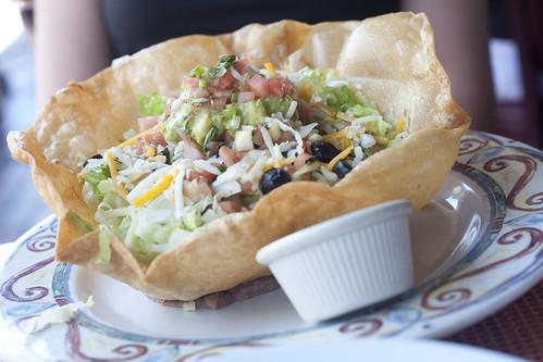 Taco Salad with Chipotle Mayo on the Side-La Fiesta