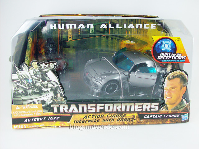 Transformers Jazz Human Alliance - caja
