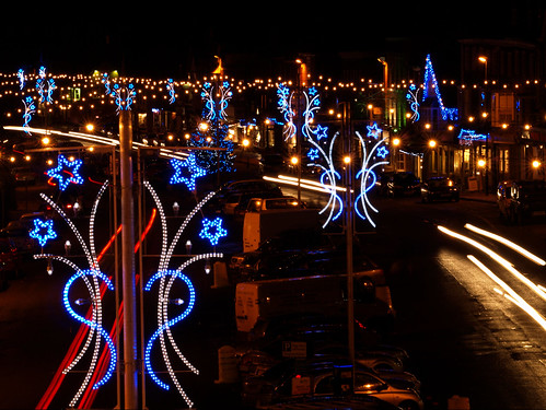 Marlborough Christmas Lights by Julie Wetherell