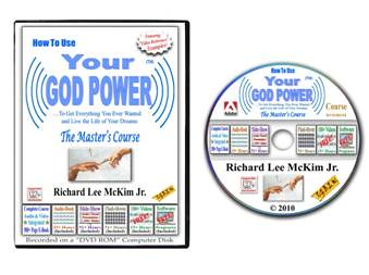 "How To Use Your God Power - The ""Master's Course"" - By: Richard Lee McKim Jr.  (All On YouTube)                                               (r790)"