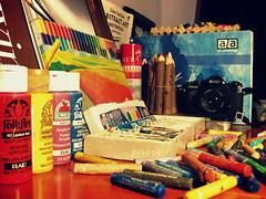 """artgasm"" (whisperworld) Tags: camera art film water colors pencils pastels colored paints"