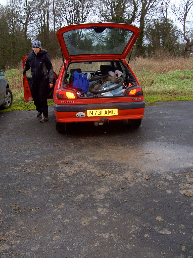 The wondrous Red Shed, the most perfect Peugeot 306 I've ever owned*. Now for sale.