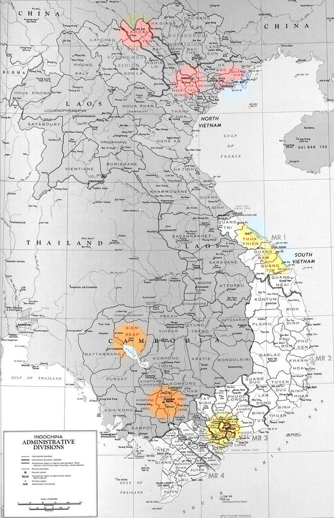 Geopolitico Vietnam-Laos-Camboya