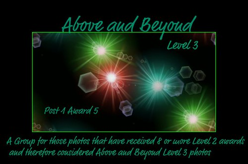 above and beyond level 3 award