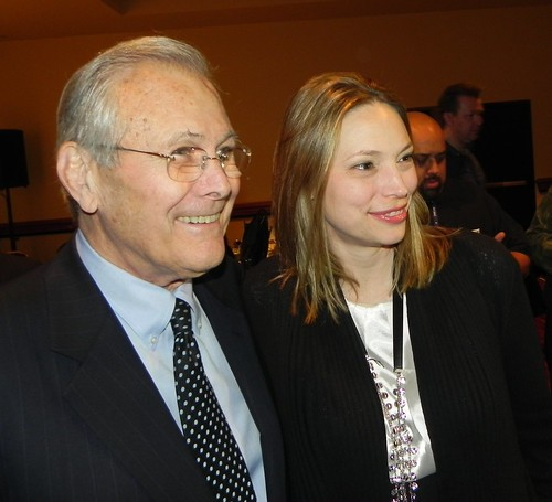 Tania and Rumsfeld