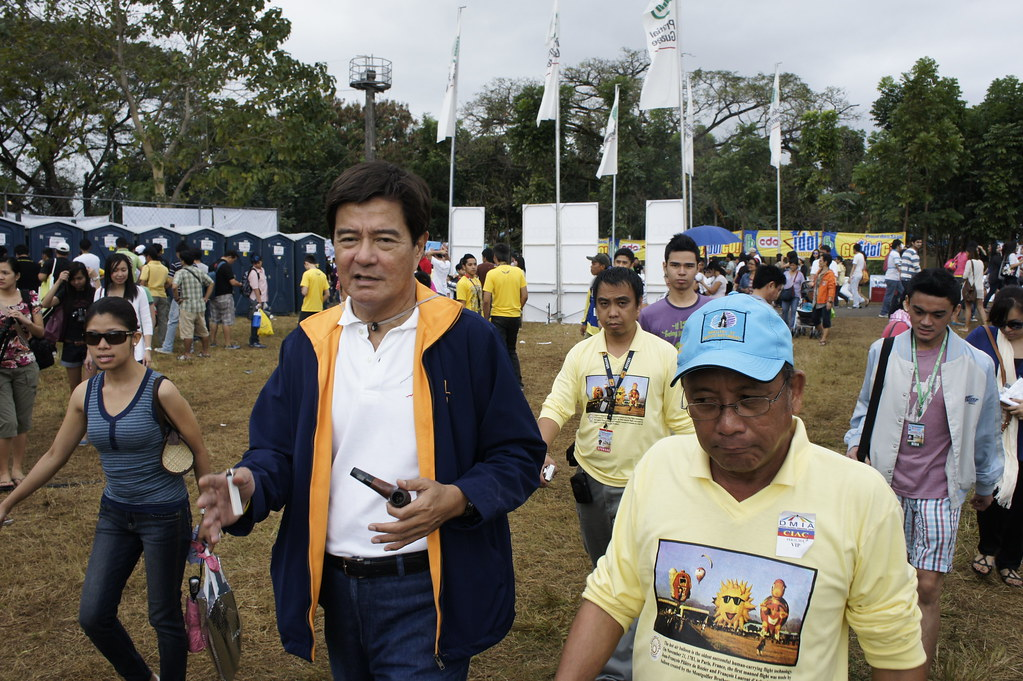 Sec. Lim in Hot Air Balloon Festival