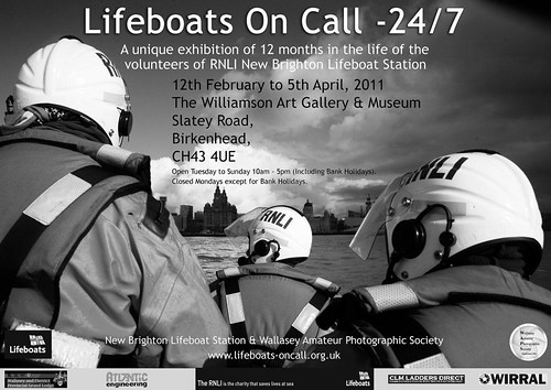 Lifeboats On Call Poster