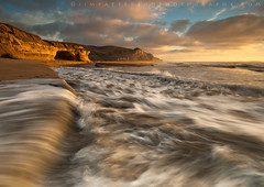 San Gregorio's Golden Shores #2 - San Gregorio State Beach, California (Jim Patterson Photography) Tags: california travel light sunset seascape color beach nature clouds landscape outdoors golden coast sandy scenic cliffs bluffs sangregorio costal sanmateocounty statebeach jimpattersonphotography jimpattersonphotographycom seatosummitworkshops seatosummitworkshopscom