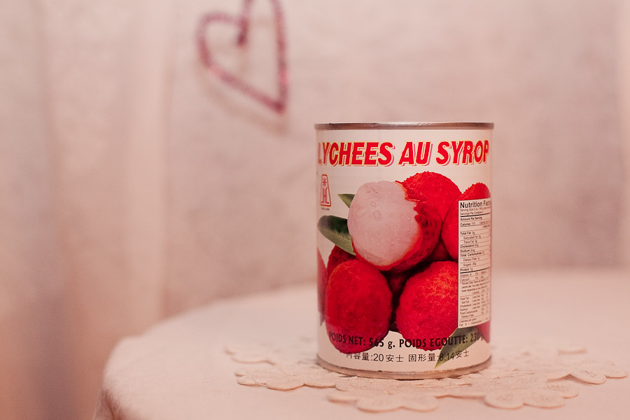 canned lychee from montreal