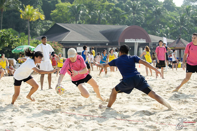 Beach Touch Rugby - 007