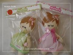 As jardineiras embaladinhas (mariafloratelier2) Tags: happy doll felt jardim feltro boneca aniversrio maternidade lembrancinha jardimdasbonecas