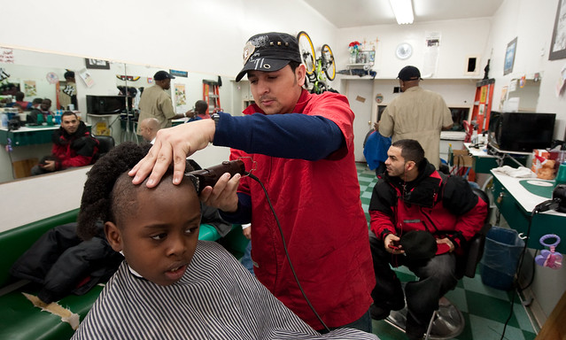 Ismael Barber Shop: Mott Haven Bronx