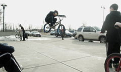 Flat Hop (Taylor Dorrell) Tags: new bike bmx air albany trick