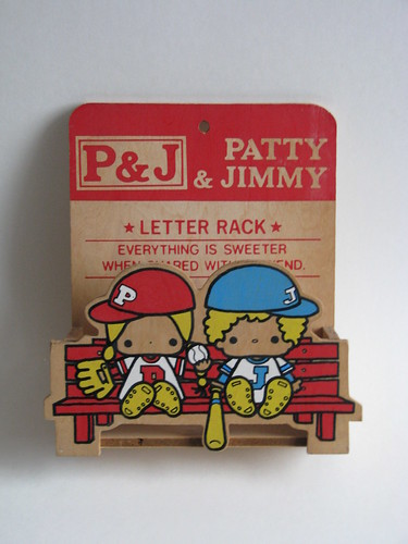 vintage letter rack. Patty amp; Jimmy vintage wooden letter rack