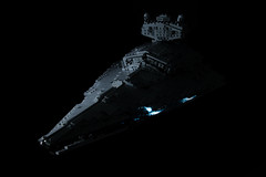 The Imperial I-Class Star Destroyer (ruleyourgalaxy) Tags: imperial darktimes wars star lego iclassstardestroyers