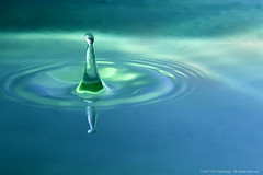 Arise From The Depths (vicfefer) Tags: water splash drop deep h2o freeze frozen ripples vicfeferberg