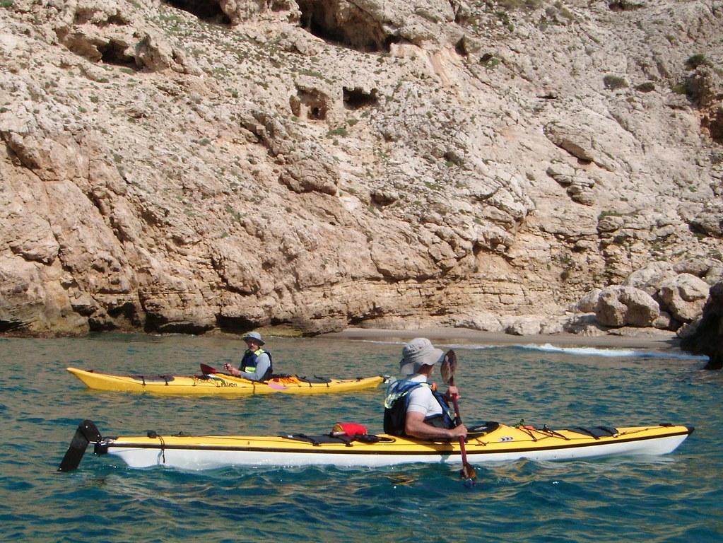 Cabo de Gata en kayak 625