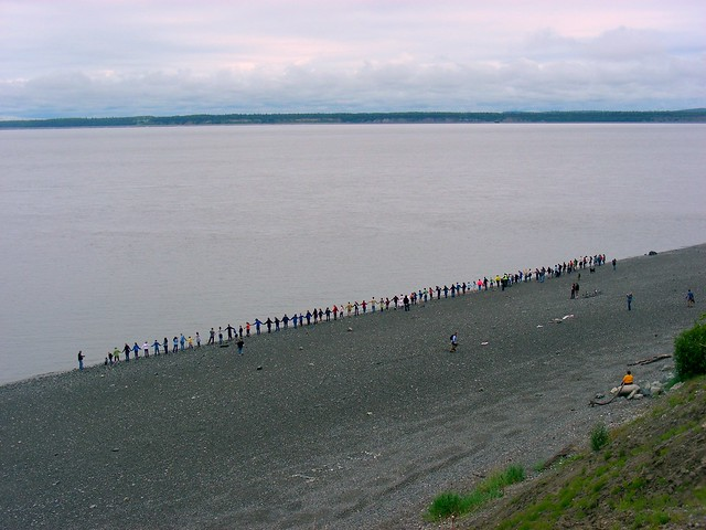 Hands Across the Sand, Anchorage, AK