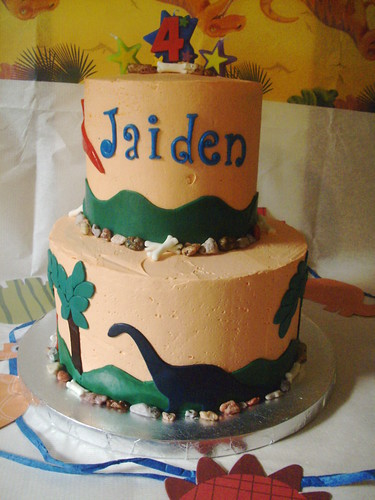 My son' 4th Birthday Cake