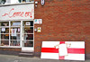 Come on! (JudyGr) Tags: england signs london football flag homemade worldcup guesswherelondon shopfront comeon londonist gwl comeonengland guessedbyrobbeer