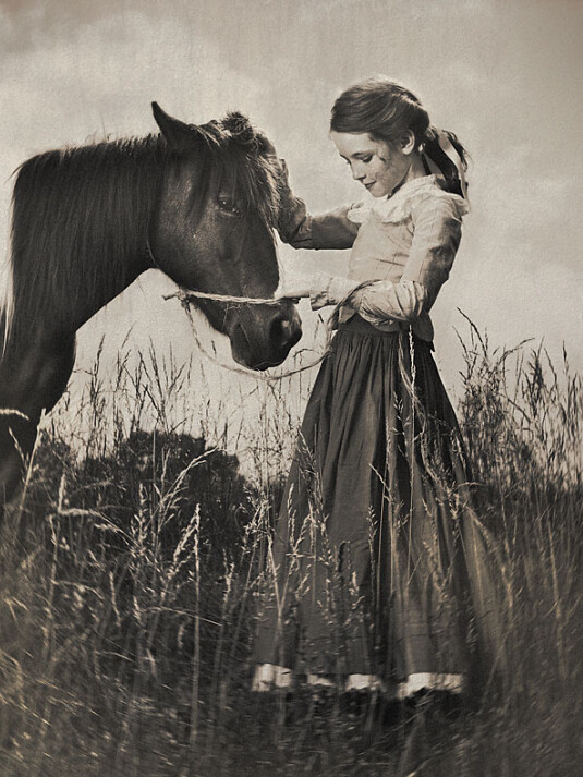 girl with horse, Picture 18