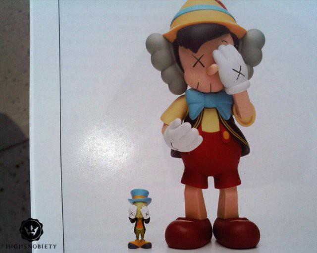 kaws-pinocchio-jimmy-crocket-toys