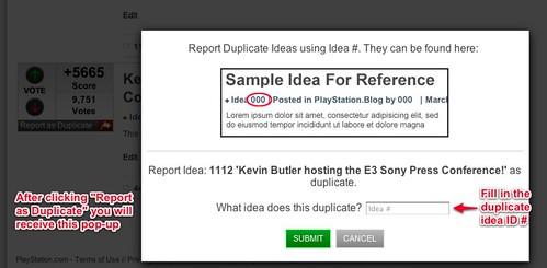 Duplicate Idea 2