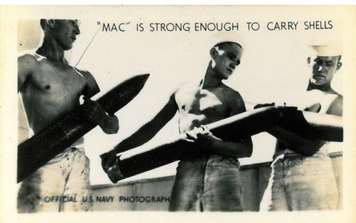 """""""MAC"""" IS STRONG ENOUGH TO CARRY SHELLS"""