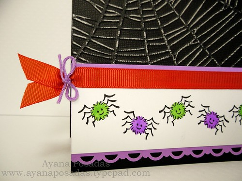 Halloween Card- Spiders (4)