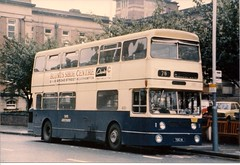 Jumbo at Royal Hospital 1975 (Walsall1955) Tags: bus buses parkroyal 4001 wmpte daimlerfleetline westmidlandspte toc1h jumbofleetline