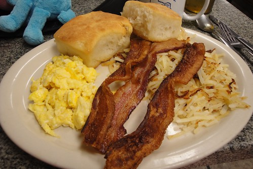 Breakfast, Bluebonnet Cafe