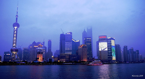 Shanghai Waterfront from the Bund
