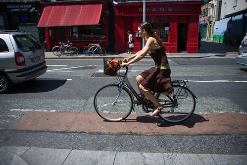 Dublin Cycle Chic - Skirting