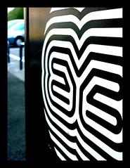 eyes (grufaloe) Tags: streetart art de la eyes centre parking stickr etienne nantes madelaine 2010 autocollant favoris chauss grufaloe