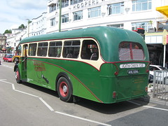 The Greenway Bus (aecregent) Tags: strand tiger ps1 barnaby leyland ac1 agathachristie 020710 ahl694 agathachristietour