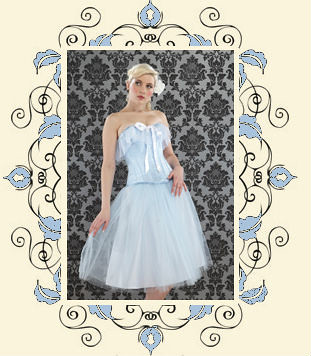 Alice corset and tulle prom skirt by Lulu and Lush