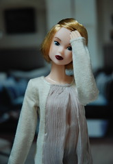 Portrait of Paulina (Girl Least Likely To) Tags: fashion toys dolls ooak vinyl etsy ccs paulina sekiguchi momoko japanesetoys jiajia ivie princesspeach asiandolls closeclippedsheep darkcherry deepplum clearlan