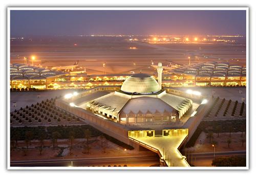 المطار صلاة الجمعة