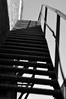 Stairs (aithom2) Tags: blackandwhite bw lines composition bokeh perspective depthoffield behind leading catchup
