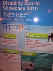 Public Libraries Disability Sports Showcase, 3 Jul 2010