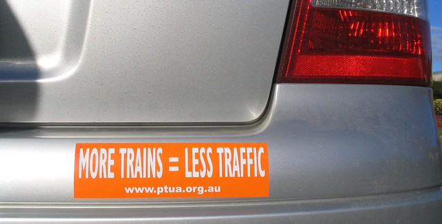 PTUA bumper sticker