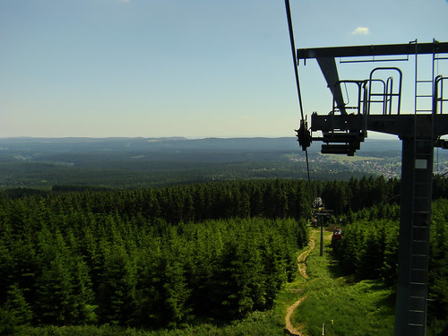 View from the Wurmberger Seilbahn
