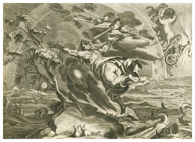 000-Les Metamorphoses d'Ovide  En Latin Et François … 1677