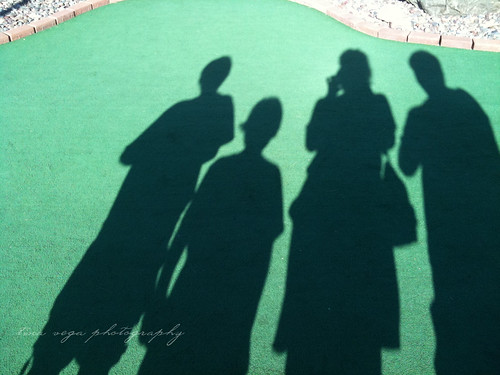 family mini golf