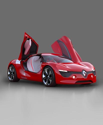 Concept car DEZIR, una Belleza Eléctrica de Renault