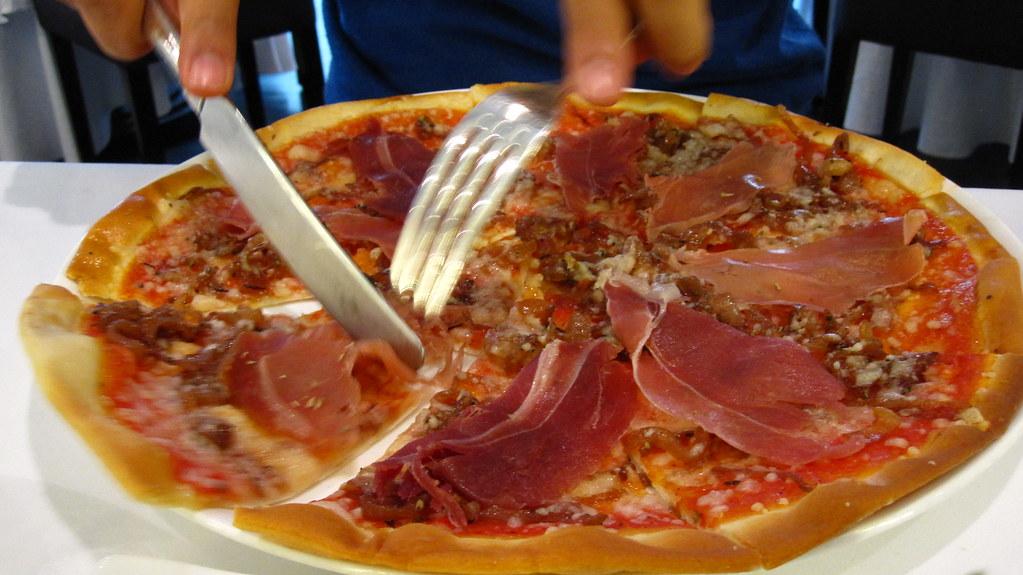 prociutto pizza