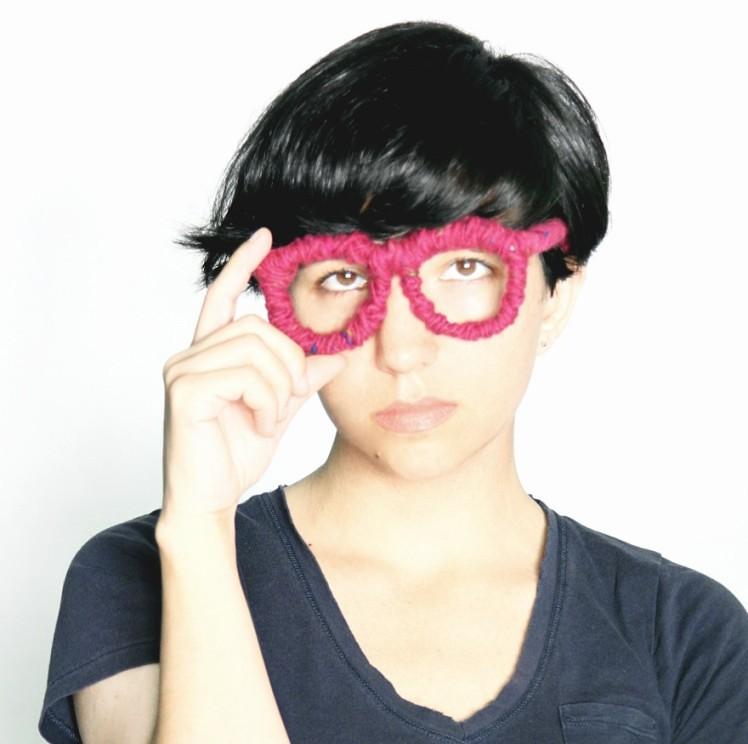 YOKOO yarn glasses